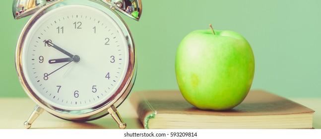 clock, apple, tutorial