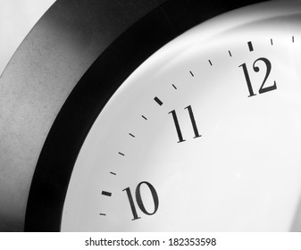 clock closeup. time concept