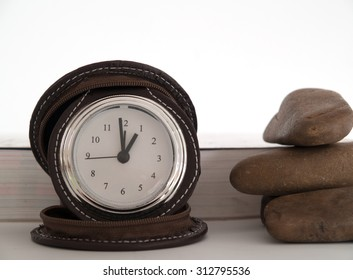 Clock, date, time, advances in each day.