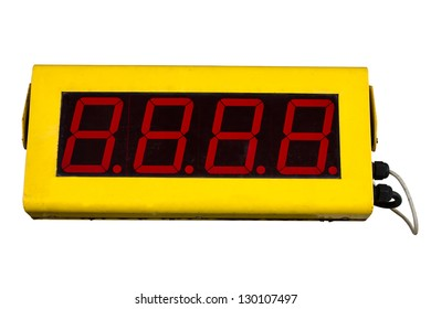 Clock Digital park countdown
