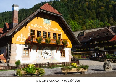 The clock factory in germany's black forest