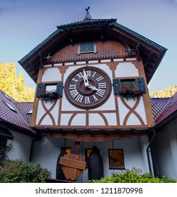 Clock germany cuckoo forest vintage triberg