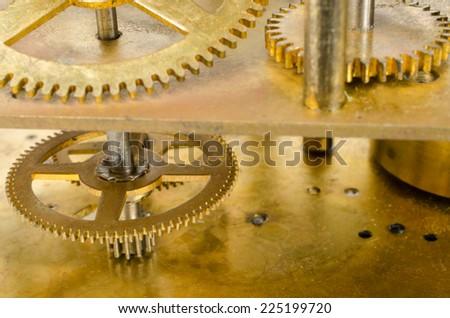 Clock Mechanism Pendulum Clock Stock Photo (Edit Now) 225199720