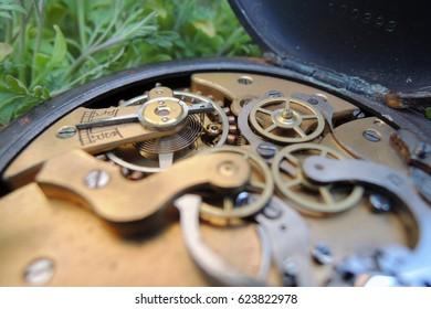 clock, mechanism, watch, old, background, time, vintage, inside, cogs, antique, retro, detail, metal, technical, gear, circle, grunge, rusty, design, macro, work, clockwork, technology, steel, machine