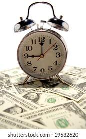 Clock and money