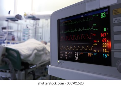 Clock monitoring of patients in ICU concept