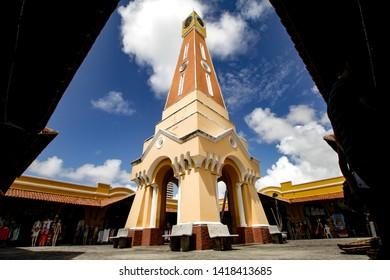 Clock of the old market of Aracaju