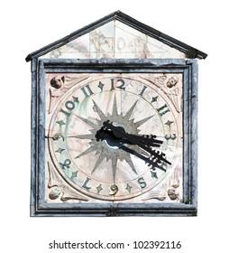 Church Clock Roman Numerals Images Stock Photos Vectors