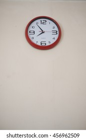 a clock on the wall that tell the time you need to wake up and go to work now!!