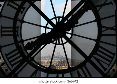 Clock at the Orsay Museum (Musée d'Orsay)