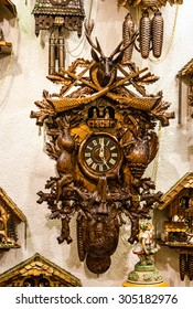 Clock in shop, Bavaria, Munich, Germany