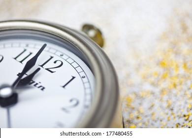 Clock Striking Twelve