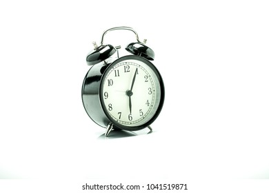 A clock that receives time