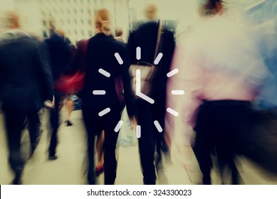 Clock Time Timer Hour Minute Concept