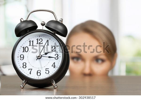 Clock, Time, Women.