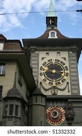 Clock Tower was the city's western gate. Bern, Switzerland