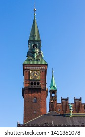 Clock Tower of Copenhagen City hall