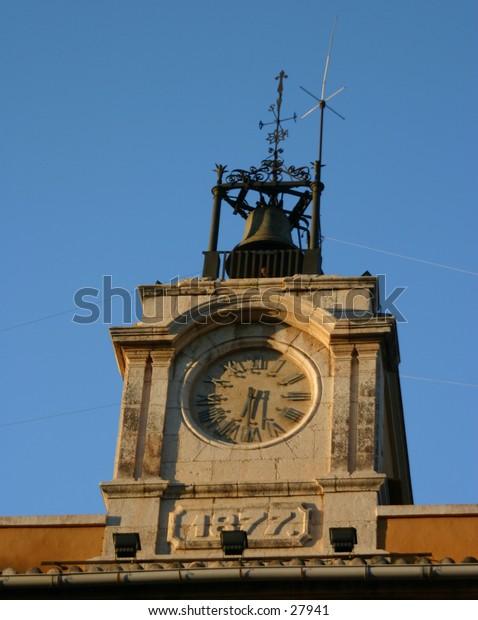 clock tower in Denia costa blanca southern Spain