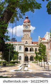 Clock Tower and Garden Plaza of the Sultan Abdul Samad Building