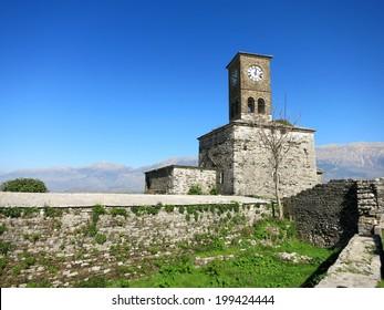 Clock Tower of Gjirokastra Castle