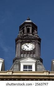 clock tower in Leeds