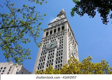 The Clock Tower in Madison Square Garden, Manhattan, New York