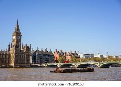 The clock tower of the Palace of Westminster, Elizabeth Tower, Big Ben