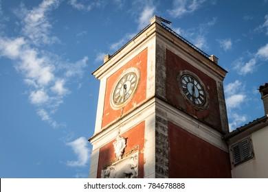 Clock Tower in Rovinj