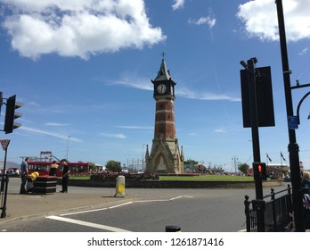 Clock tower in Skegness