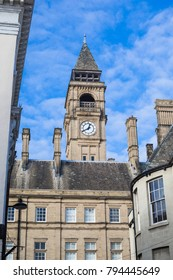 Clock tower, Wakefield Town Hall, West Yorkshire, UK