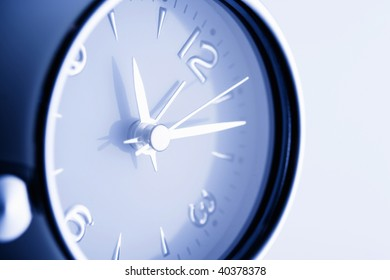 The clock which tells time.