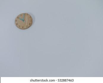 clock wooden