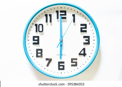 clocks isolated on white