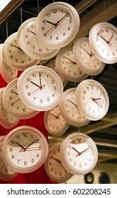 Clocks! Clocks! Clocks! Vertical.