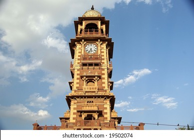 Clock-tower in Jodhpur, Rajasthan