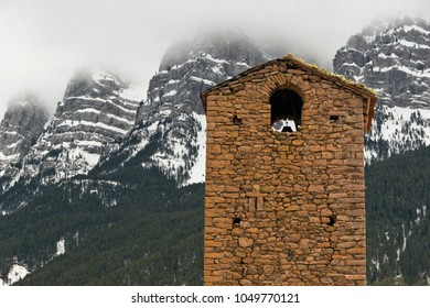 Clocktower at the mountains
