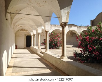 Cloister of Carthusian Monastery in Capri