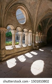 Cloister of Fontfroide Abbey in the south of France