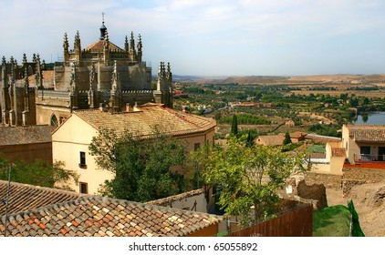 "Cloister ""San Juan de los reyes"". Toledo. Spain"
