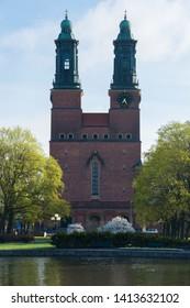 Cloisters Church (Klosters kyrka) in Eskilstuna, Sweden.