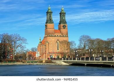 Cloisters Church (Klosters kyrka) in Eskilstuna, Sweden