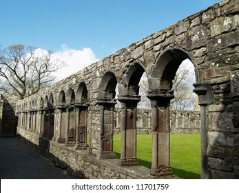 Cloisters,Jerpoint Abbey, Ireland