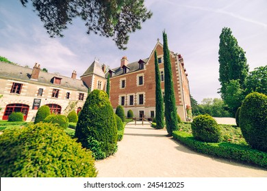Clos Luce in Amboise. Leonardo da Vinci lived here for the last three years of his life.