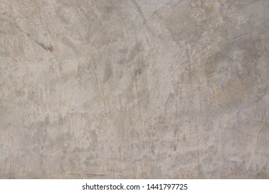 close up Abstract background texture of Polish cement Smooth plastered concrete wall painted