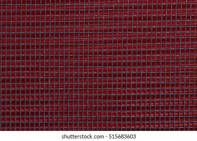 close up abstract metallic texture for background,with red