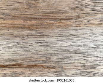 Close up abstract of the wooden board texture. Empty old wooden texture board with natural background. Surface and pattern on plank for background and copy space.