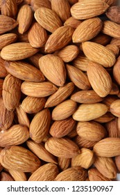close up of Almonds.