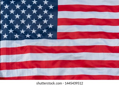 Close up american flagbackground pattern. American Flag background