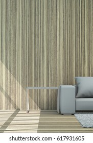 Close Up Background In Living Area For The Background Concept 3d Rendering