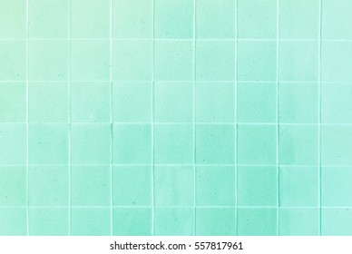 close up background and texture of stretch marks cracked on green glazed tile